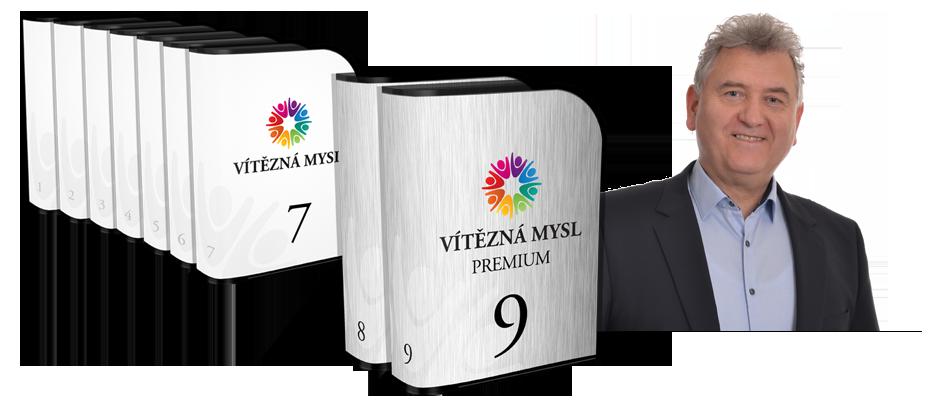 VÍTĚZNÁ MYSL a VÍTĚZNÁ MYSL PREMIUM - Kompletní sady 7 nebo 9 modulů pro každého